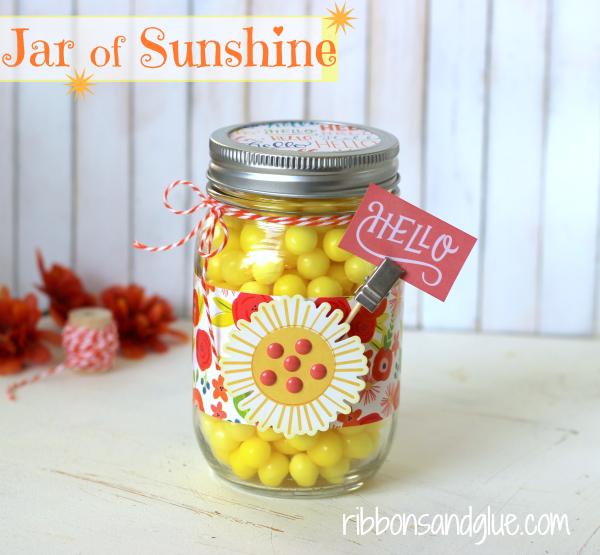 Pebbles Inc Happy Day- Jar Of Sunshine