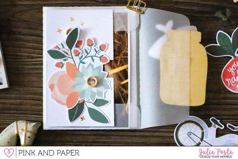 Vellum envelope mini album