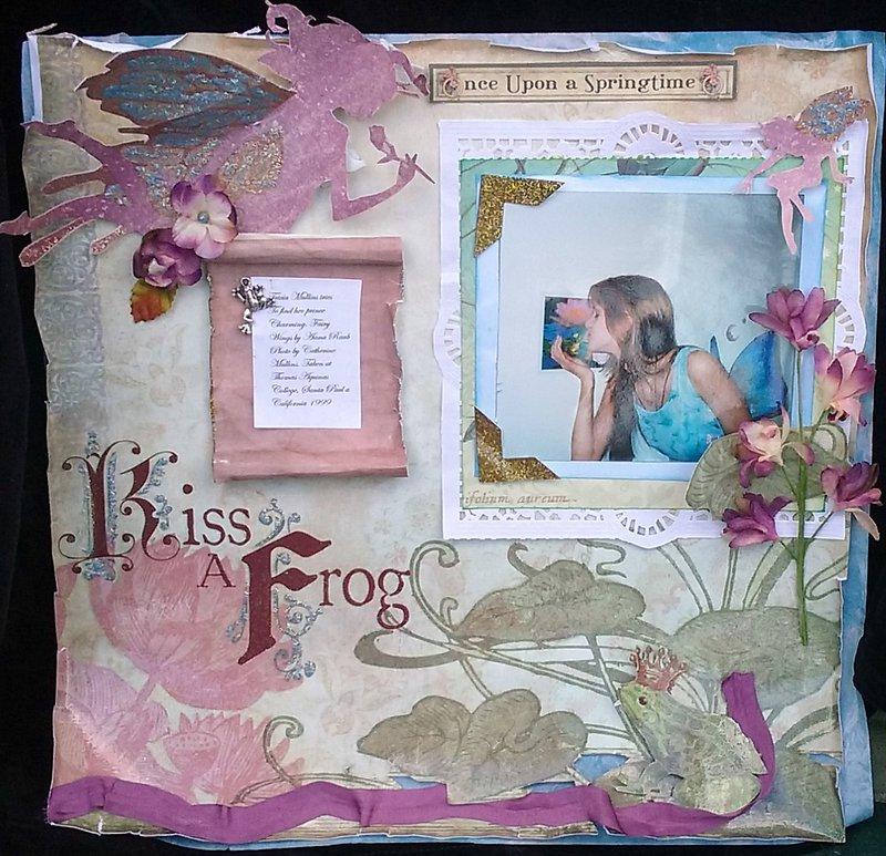 Frog Kissing Fairy