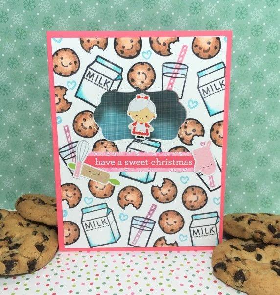 Milk & Cookies Spinner card
