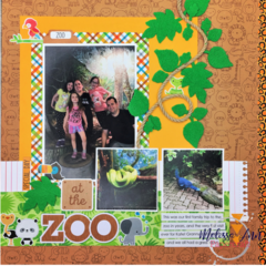 At The Zoo Layout