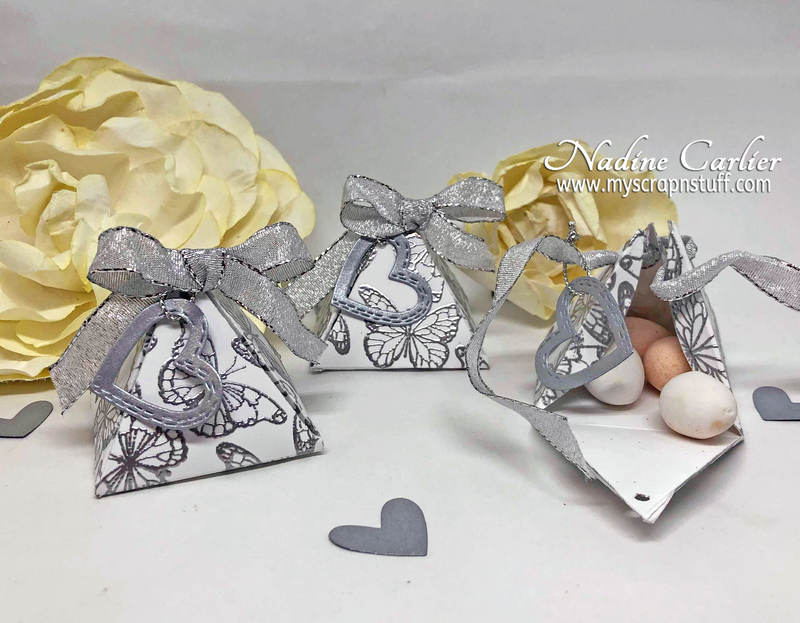 EASY DIY WEDDING FAVOR GIFT BOXES