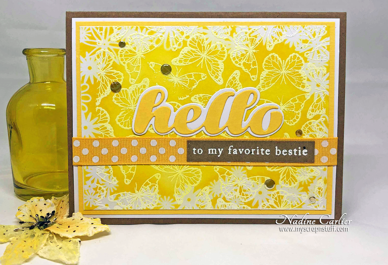 CHEERFUL HELLO CARD