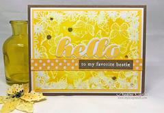 CHEERFUL HELLO CARD