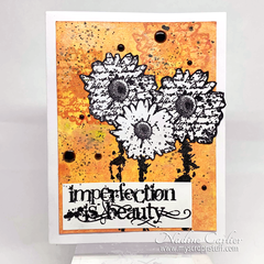 IMPERFECTION IS BEAUTY CARD