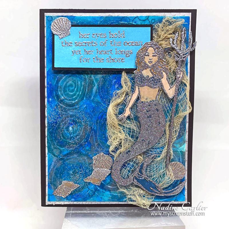 Mythical Mermaid Card