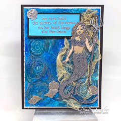 Mythical Mermaid Card