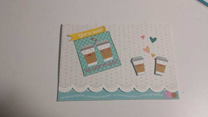 Cream and sugar card