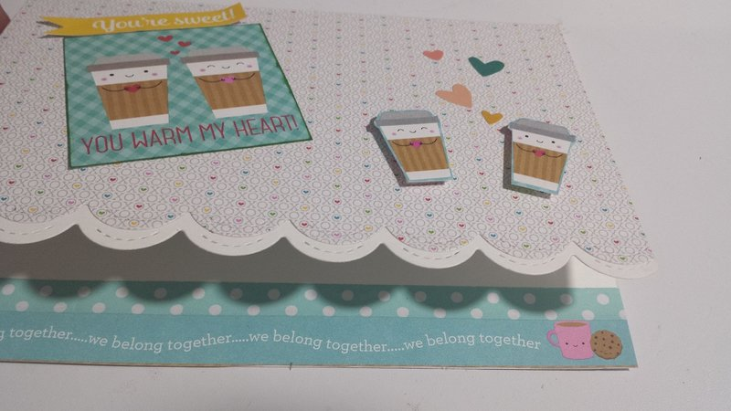 Cream and sugar card