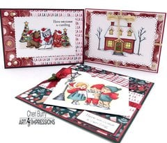 Art Impressions Christmas Wonder set