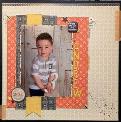 Happy 3rd Birthday Andrew