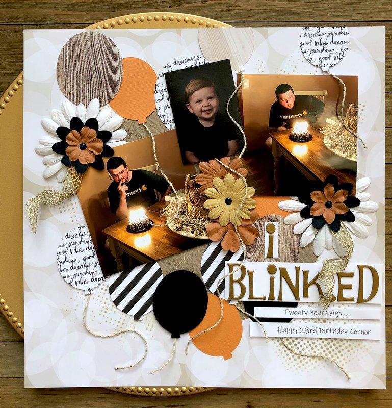 I Blinked...