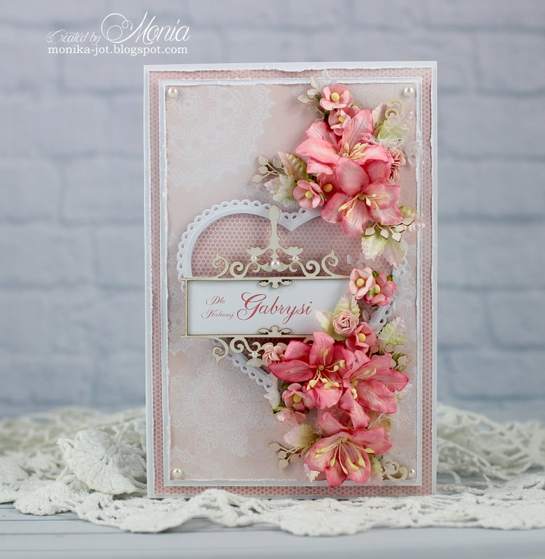 Card with die-cuts