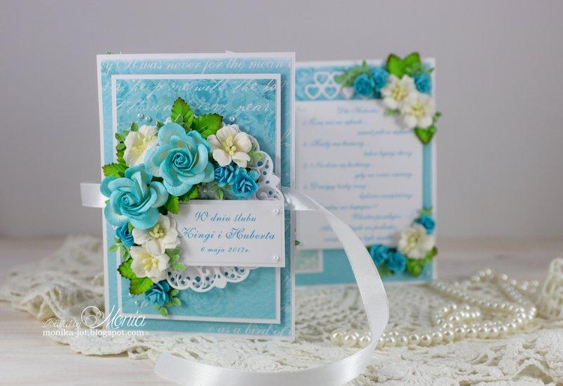 Wedding folded card