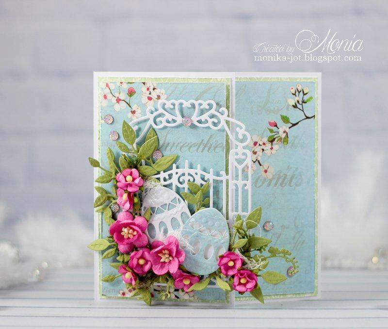 Easter z-fold card