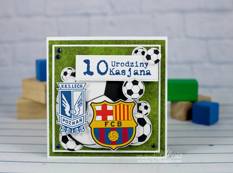 Birthday card for a soccer lover