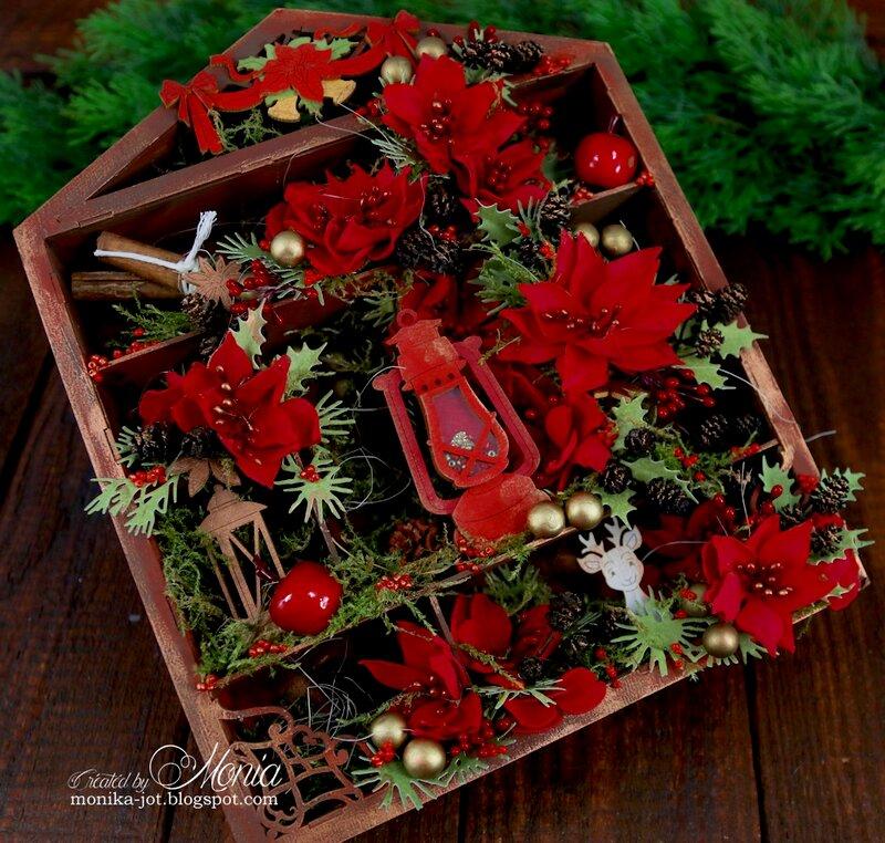 Christmas shadow-box