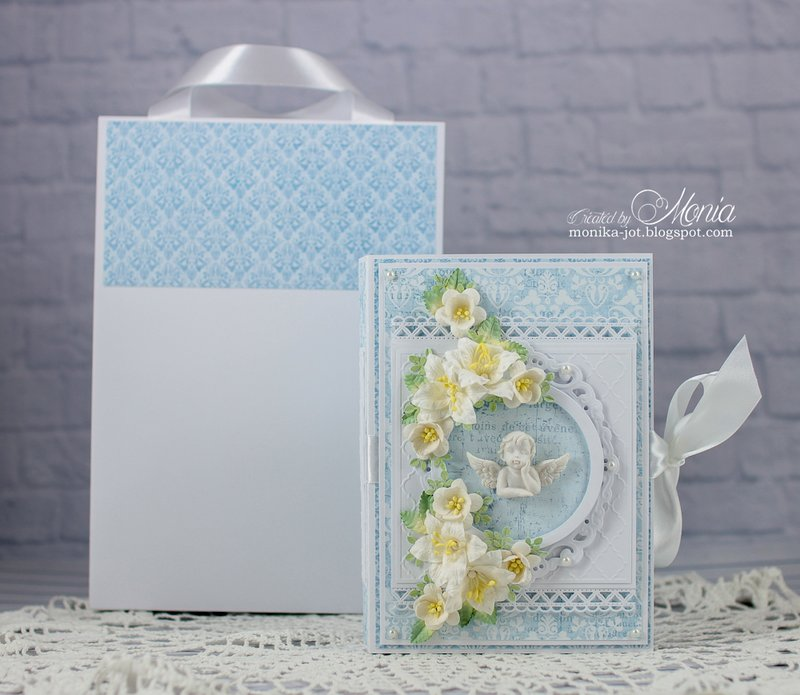 Mini album for baptism