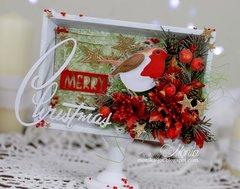 Christmas Sizzix frame