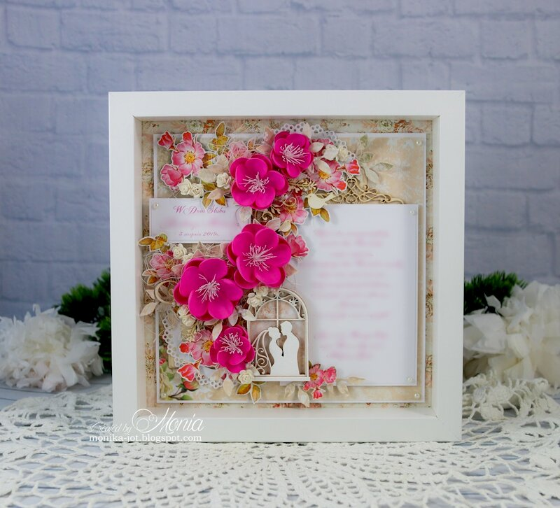 A wedding frame