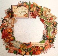 An Eerie Tale Halloween Wreath