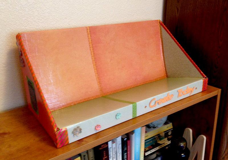 Repurposed Book Shelf