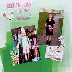 Back to School - 4th Grade