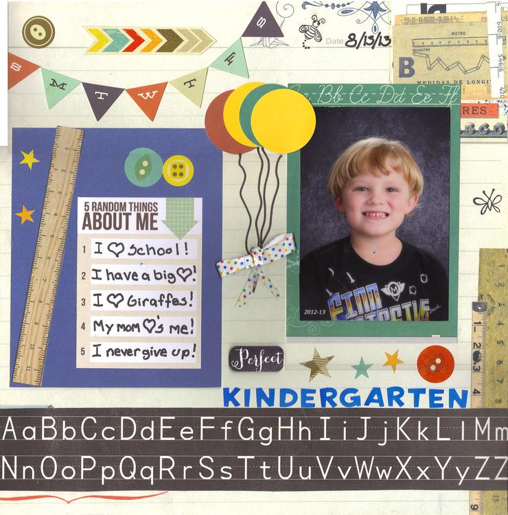 Kindergarten - In Loving Memory Album