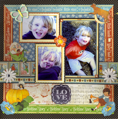 Love - Mother Goose Layout