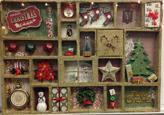 Christmas Printer Tray