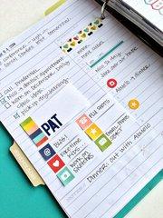 Simple Stories Planner