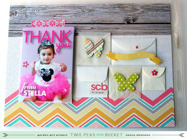 Scrap Your Stash: Chipboard + Pocket Scrapbooking