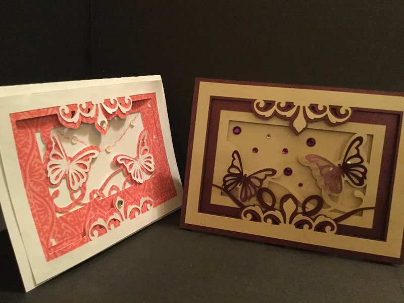 Butterfly Box Card