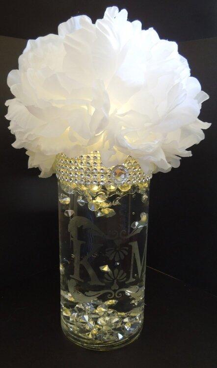 K centerpiece flower 2