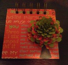 Flower Mini Note Book