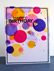 Bokeh Happy Birthday