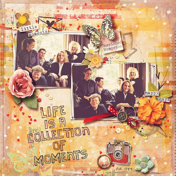 Life is a Collection of Moments
