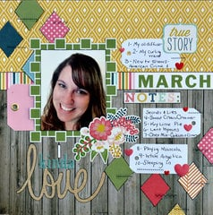March - Scrapping my Story