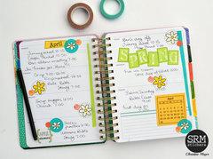 Spring Planner Spread