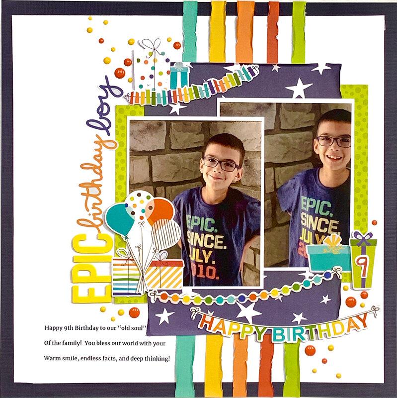 Epic Birthday Boy