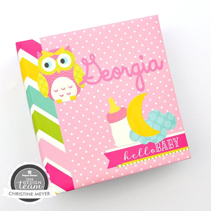 Baby Girl Flipbook Album
