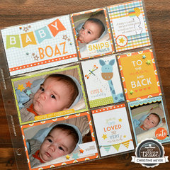Baby Boy Pocket Page