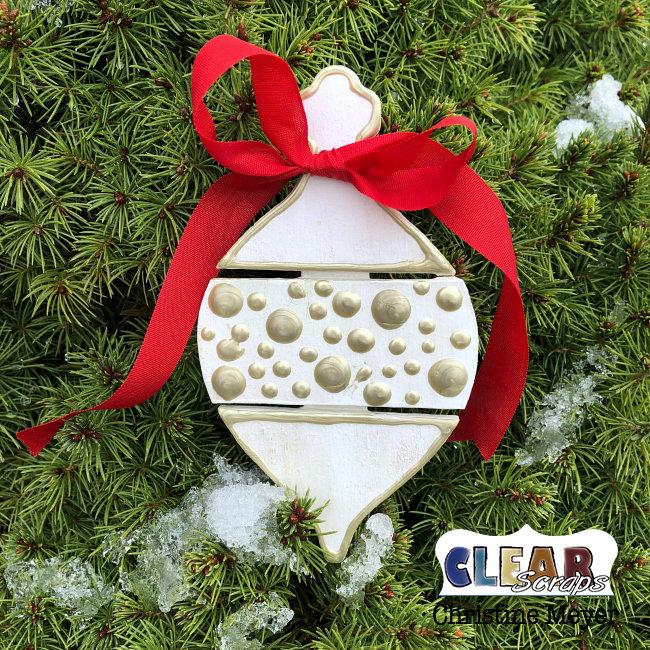 Christmas Ornament - Wood Pallet