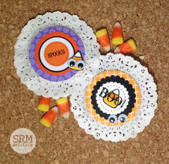 Halloween Doily Treats
