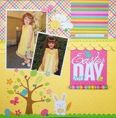 Easter Day Layout