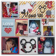 Disney Pocket Page: Memories
