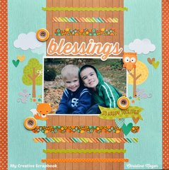 Blessings - My Creative Scrapbook