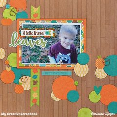 Leaves - My Creative Scrapbook