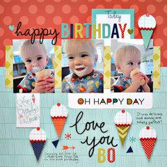 Happy Birthday - My Creative Scrapbook Kit