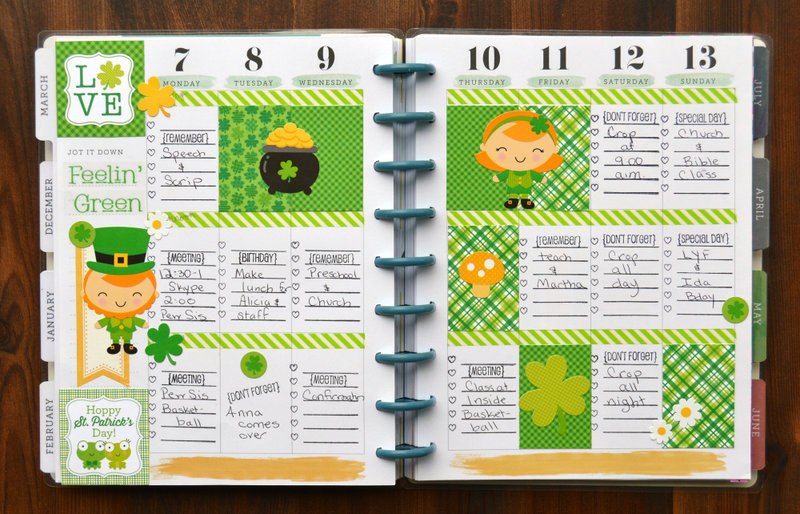 March Planner Spread